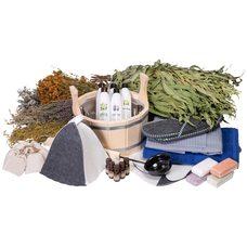 """Подарочный набор для бани """"Банный аромат""""-35 предметов"""