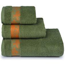 Полотенце махровое Element,70х130, цвет зеленый