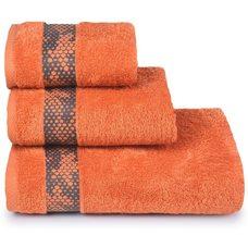 Полотенце махровое Element,70х130, цвет оранжевый