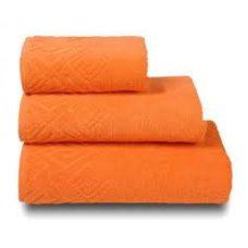 Полотенце махровое Poseidon,100х150, цвет оранжевый