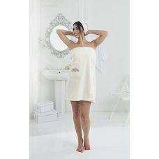 Набор для сауны женский Karna Pera, кремовый, 2 предмета