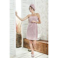 Набор для сауны женский Karna Paris, лавандовый, 3 предмета