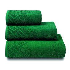 Полотенце махровое Poseidon,100х150, цвет зеленый