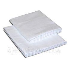 Простынь для бани и сауны бязевая ,белая,150*200 см