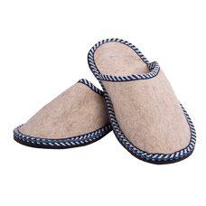 Тапочки из шерсти мужские, размер: 43-44