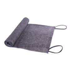 Коврик-лежак для бани 50 x 150 см, материал: войлок, цвет: серый