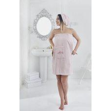 Набор для сауны женский Karna Pera, розовый, 2 предмета