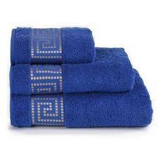 Полотенце махровое Mito Greco, 70*130, цвет синий