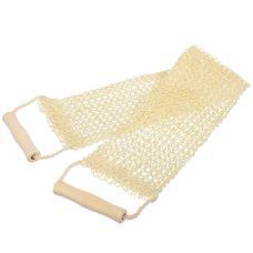 Мочалка из сезаля с деревянными ручками