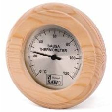 Термометр для бани и сауны Sawo 230-TD, форма круга, материал: кедр