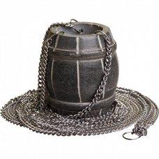 Испаритель для бани и сауны подвесной Бочонок 40220, цвет серый, материал талькохлорит