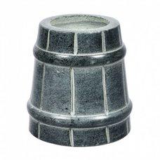 Испаритель для бани и сауны Ведерко 40221, цвет серый, материал талькохлорит