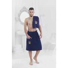 Набор для бани и сауны мужской Karna Pamir, синий