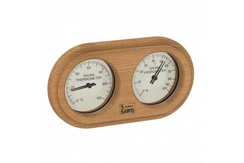 Термогигрометр для бани Sawo 222-THD, кедр