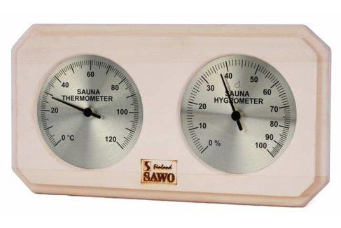 Термогигрометр Sawo 221-THА, осина