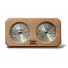 Термогигрометр Sawo 221-THD,кедр