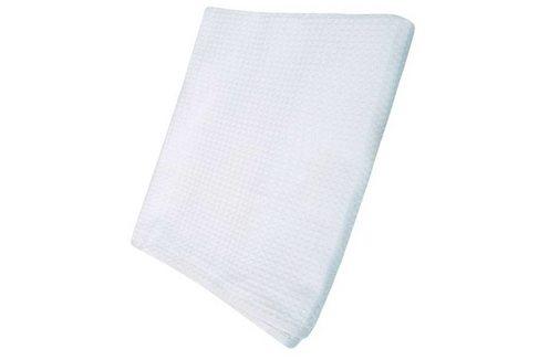 Простынь для бани и сауны вафельная, белая, 150*180 см