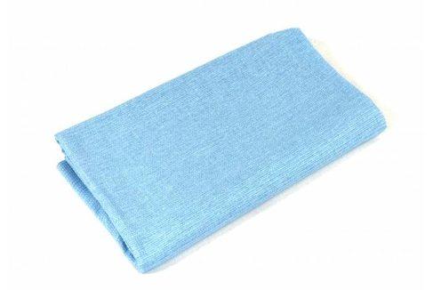 Простынь банная вафельная, голубая, 150*180 см