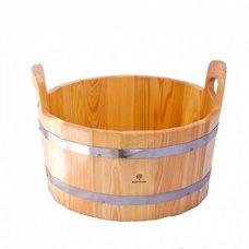 Шайка для бани и сауны Bentwood 15л, лиственница натуральная