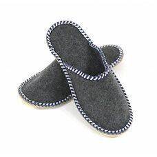 Тапочки из войлока мужские, размер: 43-44