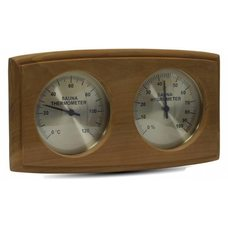 Термогигрометр для бани и сауны Sawo 271-THBD,кедр